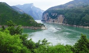 瞿塘峡风光2