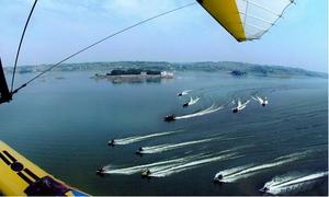 长寿湖游船