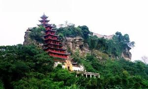 石宝寨风景图片