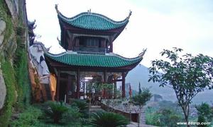 张飞庙风景图片
