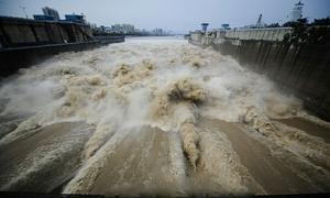 葛洲壩-泄洪口