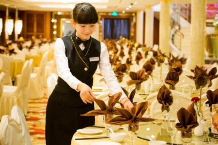 总统八号_餐厅服务