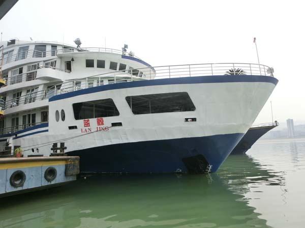 长江蓝鲸号外观